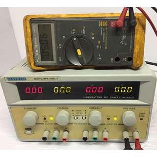 MATRIX MPS-3005L-3 LABORATORY DC POWER SUPPLY