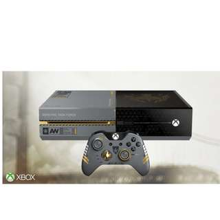 reserved Limited Edition XBOX One 1 TB : Call of Duty Advanced Warfare Console