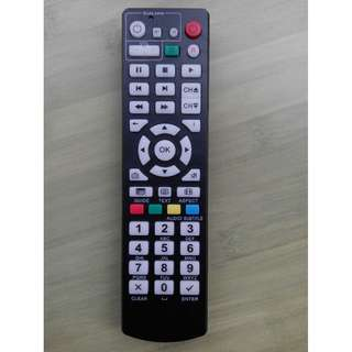 全新黑色升級版 Magic TV 機頂盒代用遙控器 (適用於 MTV3000-9500D) Replacement Remote Control for Magic TV STB only