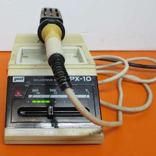 GOOT SOLDERING STATION PX-10 WITH GOOT SOLDERING IRON