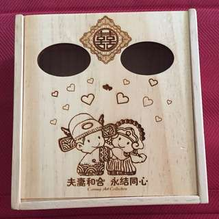 Wedding Wooden Box #Bajet20