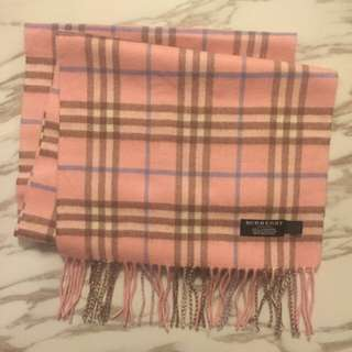 Burberry Scarf pink