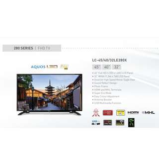 Sharp FHD LED TV LC-40LE280X (Digital)