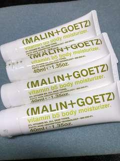 MALIN+GOETZ body moisturizer