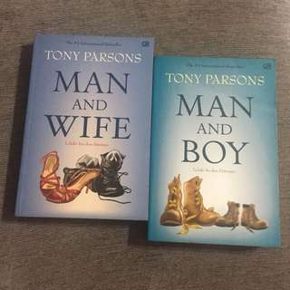 2 Books by Tony Parsons