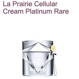 50 ml La prairie cellular cream platinum rare