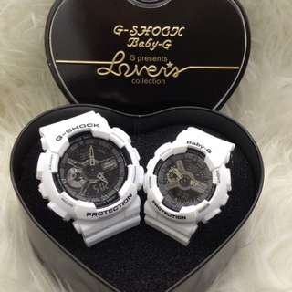 G-SHOCK COUPLE LIMITED EDITION WATCH