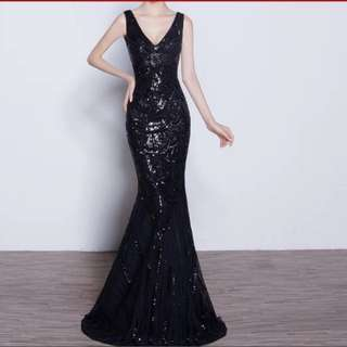 Instock Evening Gown