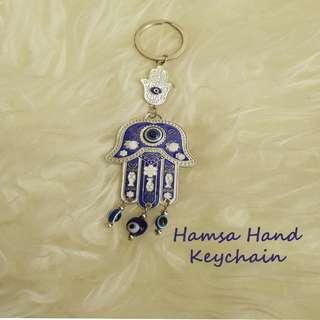 Hamsa Hand Keychain
