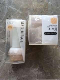 Shiseido Maquillage Essence Rich White Liquid UV Foundation in OC 20