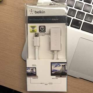 Belkin Mini Displayport to HDMI Adapter M/F 1080p