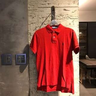 Polo by Ralph Lauren 紅色polo 衫