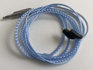 6 wire Silver plated mmcx IEM upgrade cable