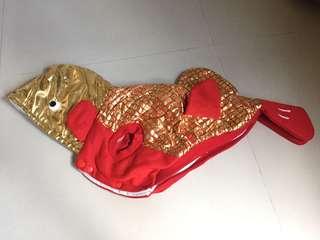 Pet Dog Costume Goldfish