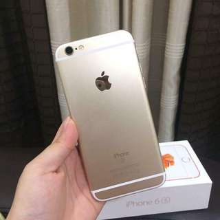 Iphone 6s 16gb Gold Globelocked lady owned