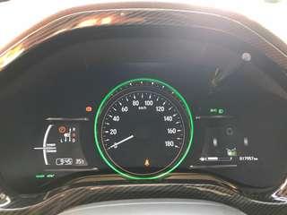 Honda vezel carbon fibre interiors