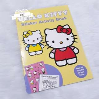 Hello Kitty Sticker Activity Book