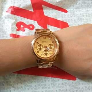 BERSHKA WATCH ROSE GOLD