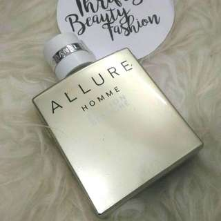 *authentic* CHANEL Allure Homme Blanche 50ml Edt concentree
