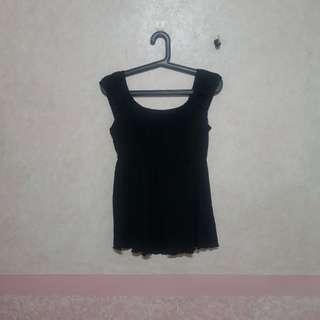 Black Sheer Top/Blouse