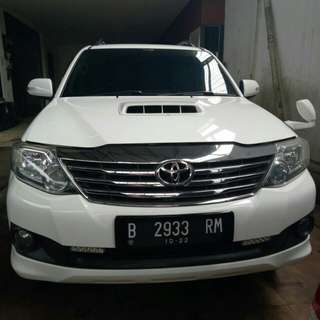 Fortuner vnt turbo 2012 at muluss