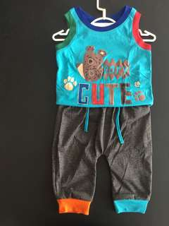 228-0026 Boy Cute Set Wear