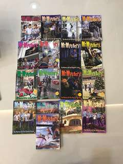 Mr mystery books for sale!