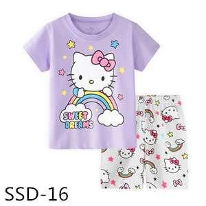 Rainbow Hello Kitty T-shirt set