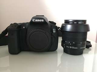 CANON 60D 18-55MM IS II