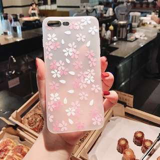 Iphone 6/6s, 6Plus/6sPlus, 7/7Plus Flower case