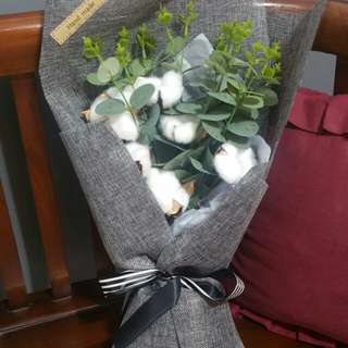 (31.90)Large Goblin cotton flower bouquet