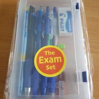 Exam stationery set