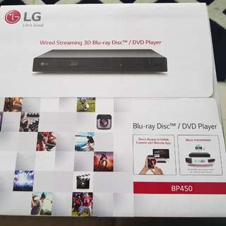LG Blu Ray Player BP450