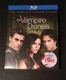 Vampire Diaries Season 2 Bluray
