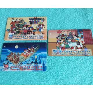 Mickey & Minnie Mouse Telephone Cards