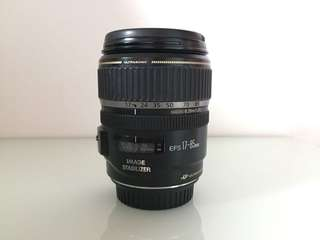CANON EFS 17-85MM IS USM