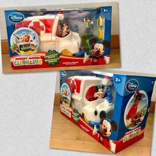 [SOLD] ~BNIB~ Disneystore/ Disney Mickey Mouse Clubhouse Ambulance Play Set