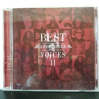 CD》 Best Audiophile Voices ll