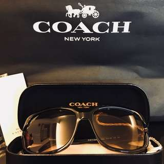 Coach sunglasses 太陽眼鏡
