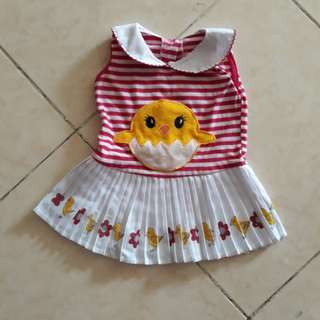 Dress anak 12m