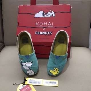 Sepatu Anak Snoopy merk Kohai Original