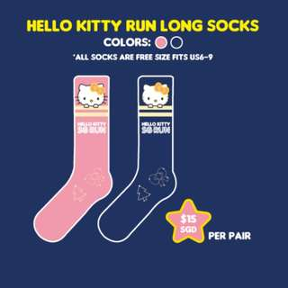 HELLO KITTY RUN SG SOCKS
