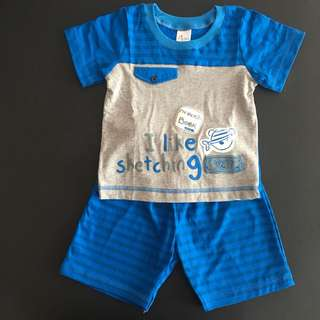 228-0022 Boy Cute Set Wear