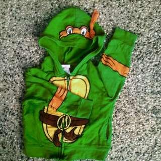 Jaket ninja trtle