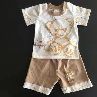 228-0024 Baby Boy Cute Set Wear