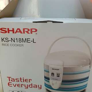 Rice Cooker Sharp KS-N18ME-L