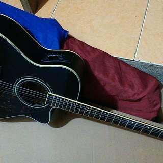 Gitar elektirk akustik tuner neeeeeww