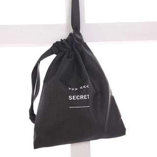 """Secret""Drawstring Pouch"