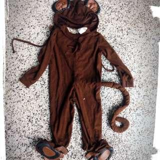Costume monkey 1 yr