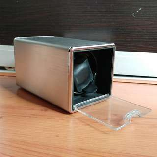 Automatic Watch Winder (Brushed Metal)